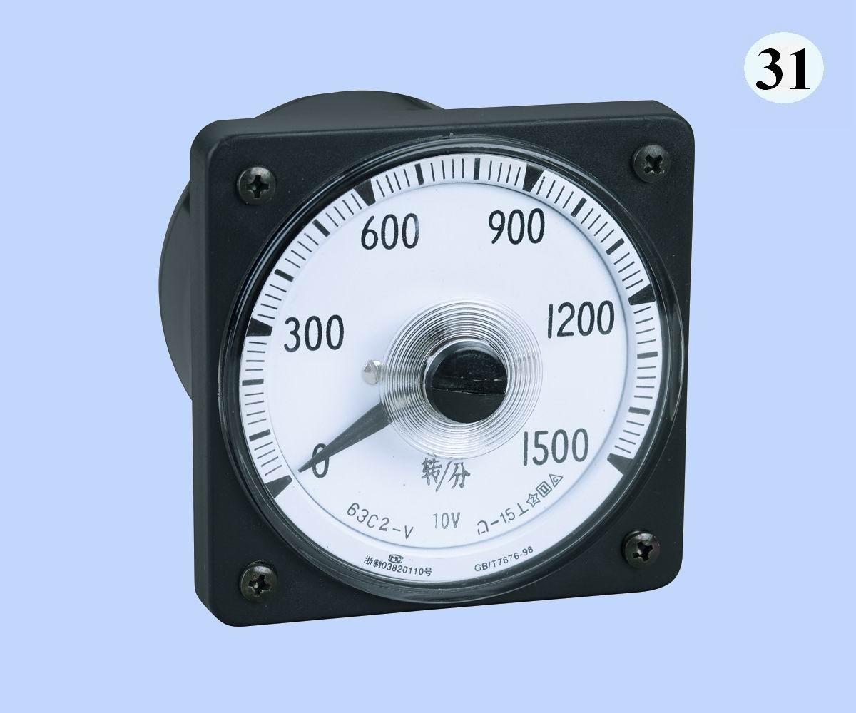 63C2-V转速表